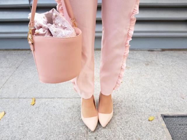 Pink on pink