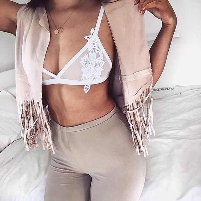 I love wearing bralette, how about you, yas or nah?