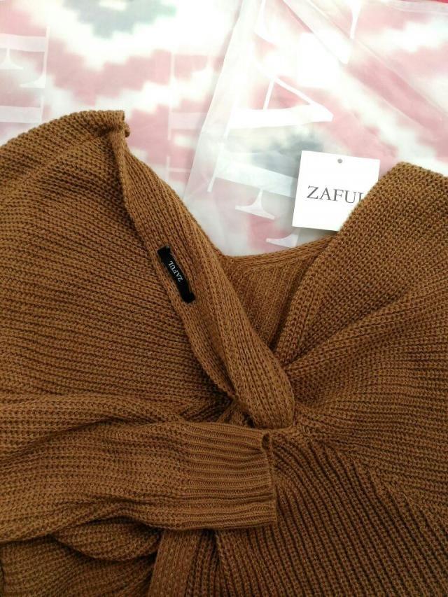 coziest sweater! I love it!