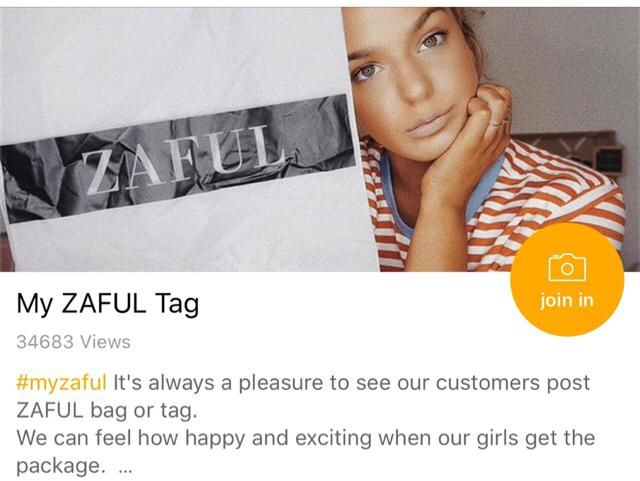 Glad to be a part of the Zaful team