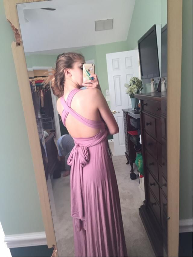 My prom dress! Thoughts?