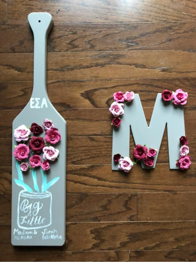 DIY big little paddle! Made by me