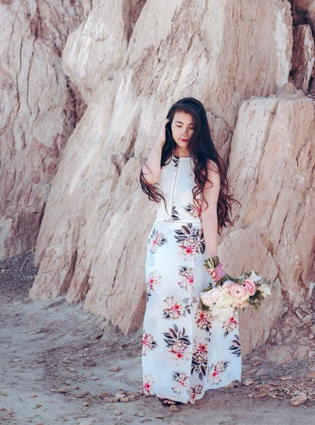 Floral Maxi dress are my fav