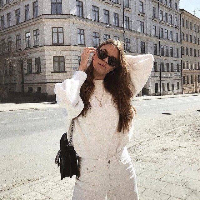 All white outfit, yay or nay?