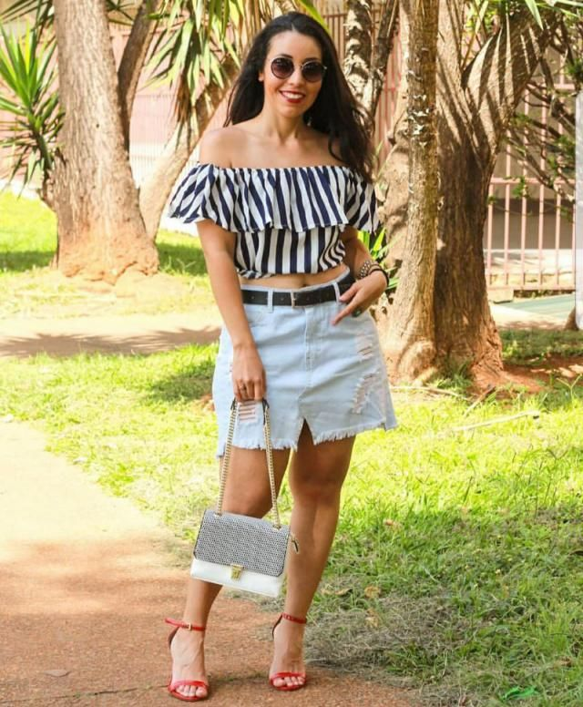 You can never have too many striped tops