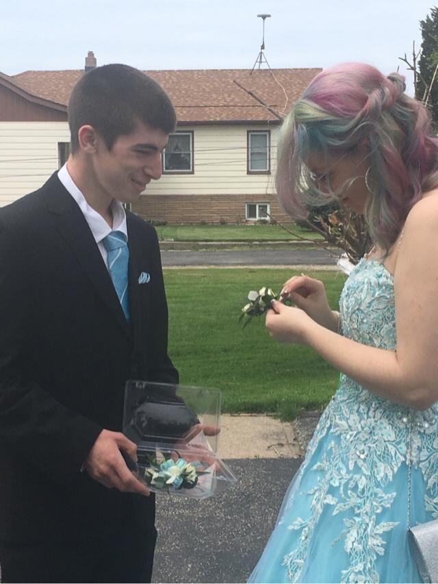 Prom with my amazing boyfriend was absolutely amazing
