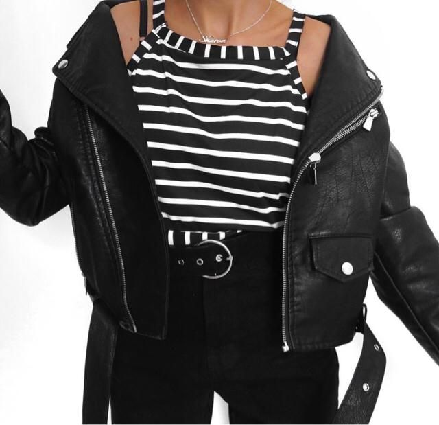 leather jacket is a must have