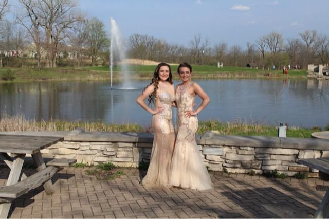 I had a date, didn't work out so i went with my best friend.  we kinda matched on accident and it was the best night i'…