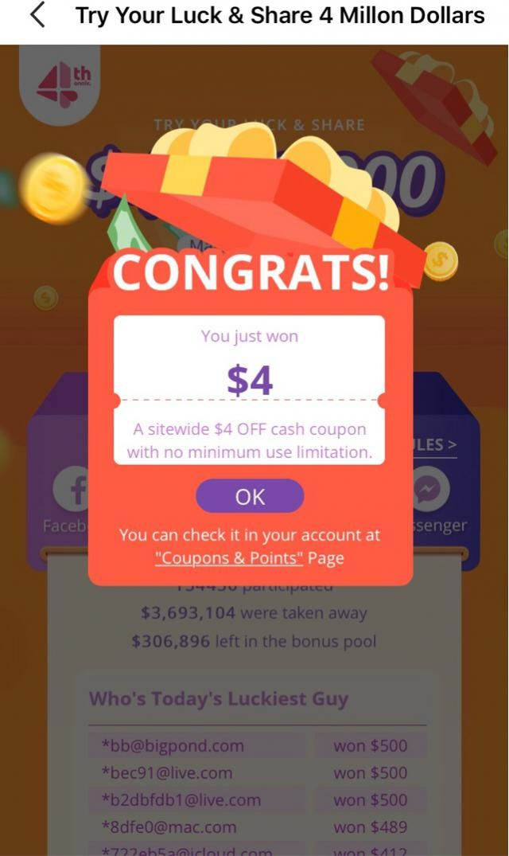 i wish i can win upto win $500