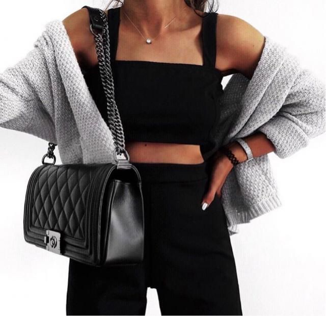 I'm totally obsessed with this black co_ord set
