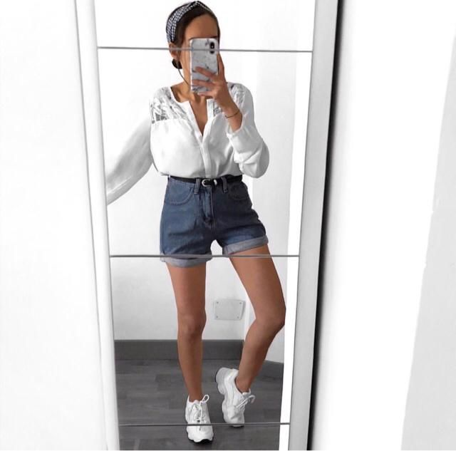 high waisted shorts are a must for summer