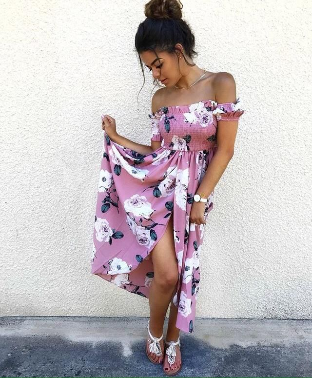 what a perfect maxi dress for from night on summer