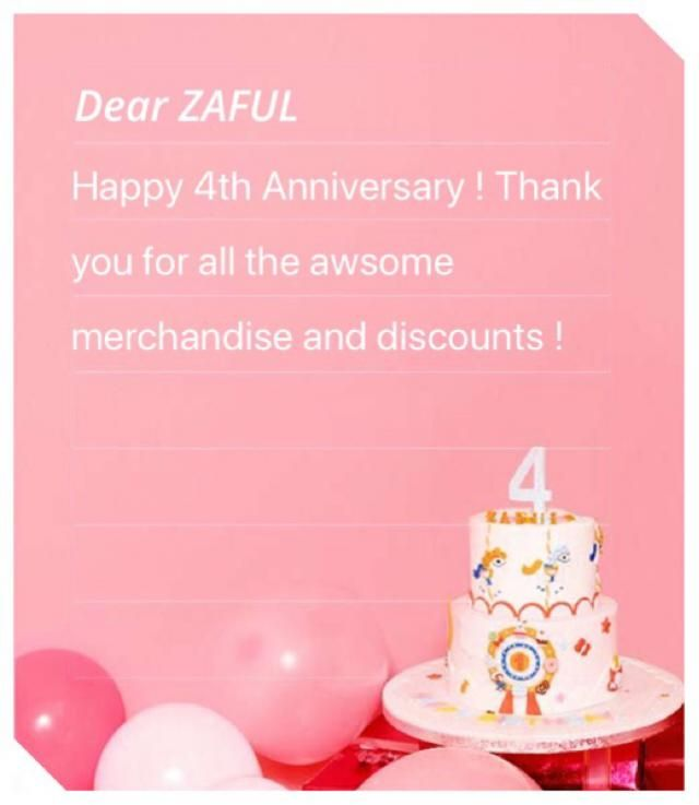 Love you zaful !
