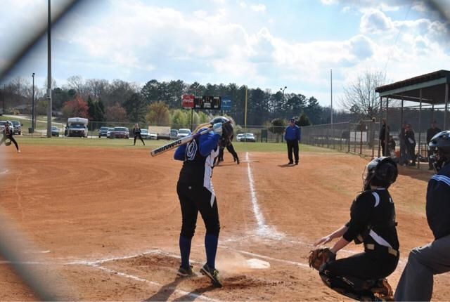 Missing softball this time of year.