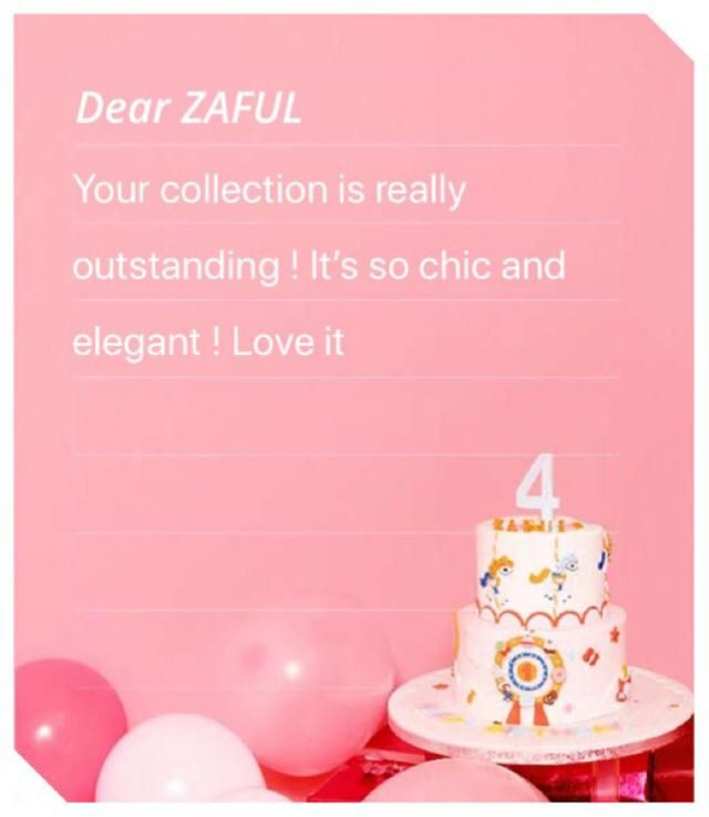 Congrats zaful! Keeep up the good work and keeep growing ❤️ cheers!