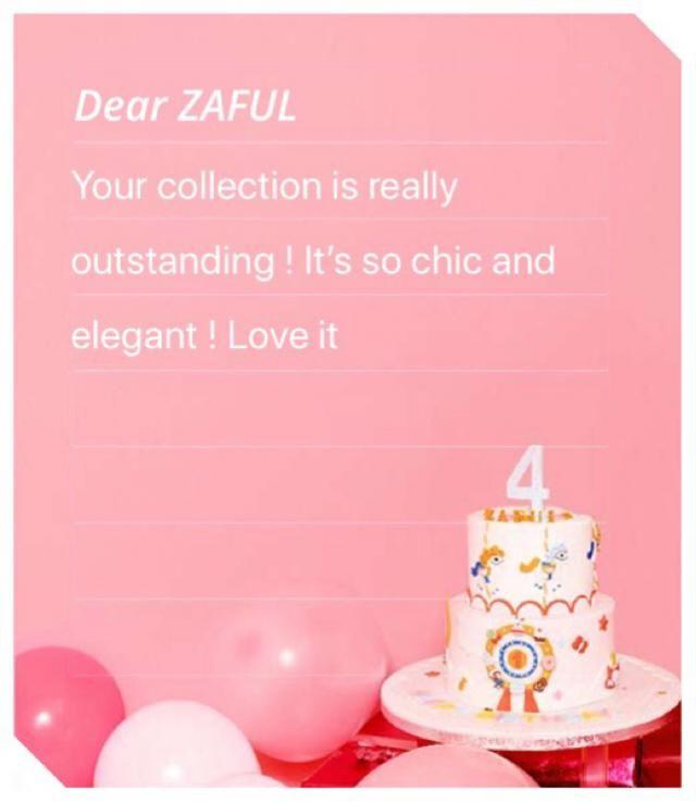 Congrats zaful! Keeep up the good work and keeep growing ❤️ cheers!
