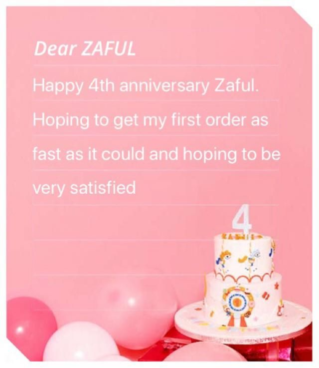 Congrats Zaful