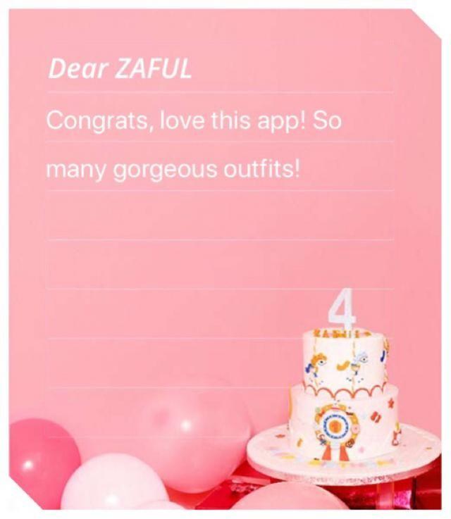 Grattis till Zaful!