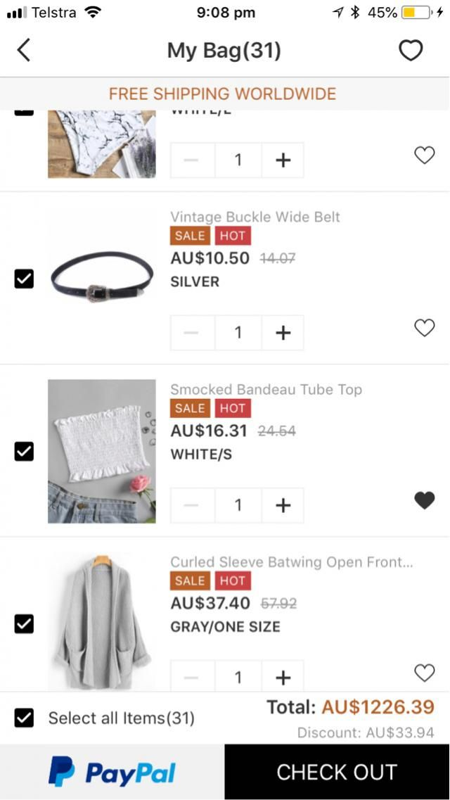 .... I think I'm addicted to Zaful ! I love everything!!