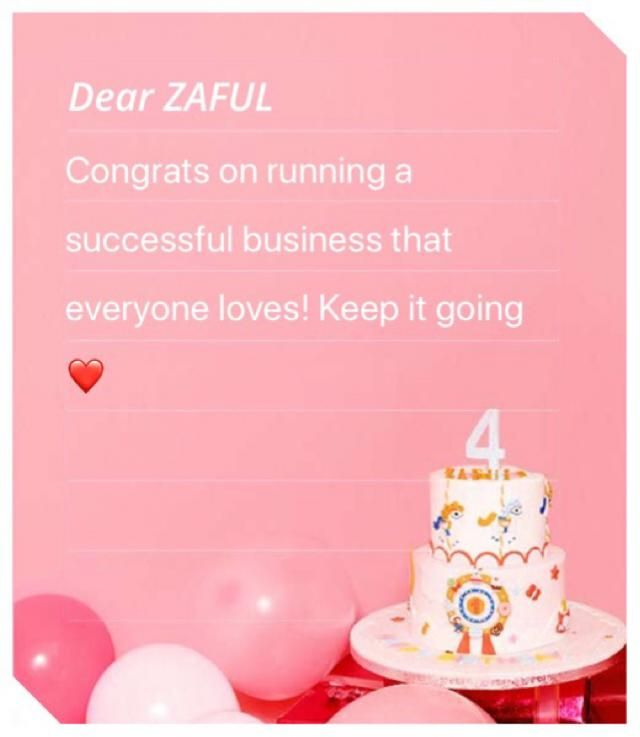 Thanks for being amazing ZAFUL