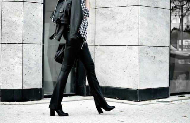 Leather walk.