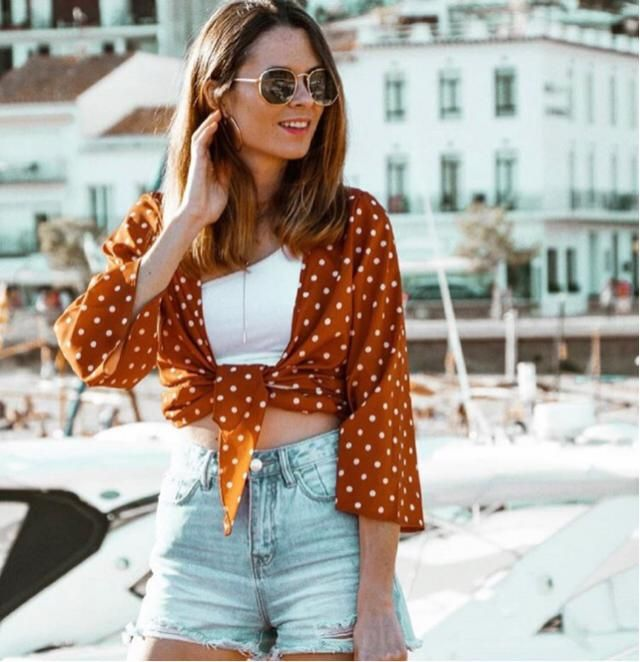 This is a perfect summer outfit for your vacation