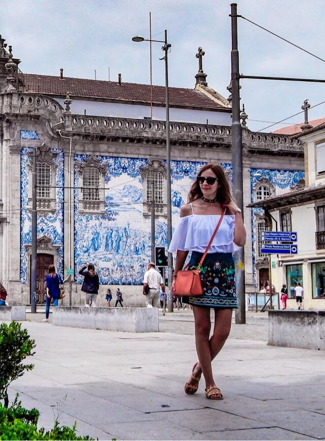 Embroidered skirt in Portugal ❤️       Instagram @travelera.es
