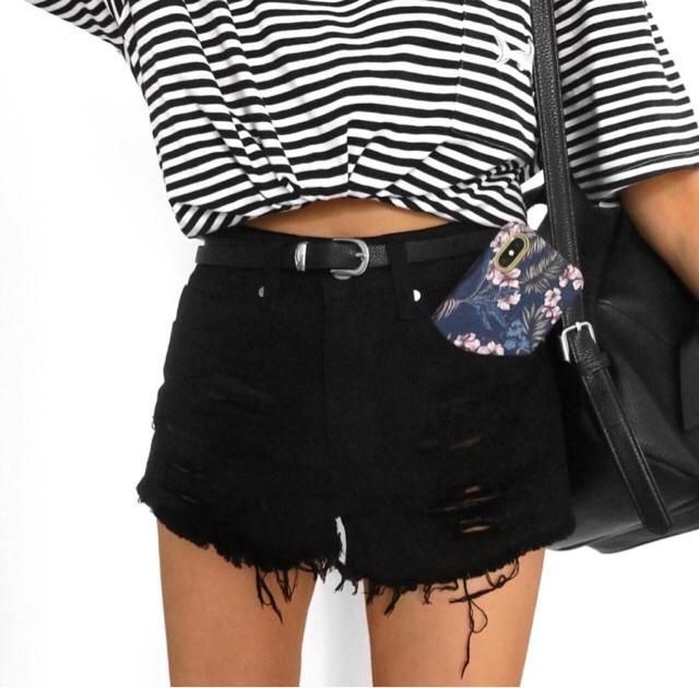 high waisted shorts are a must have