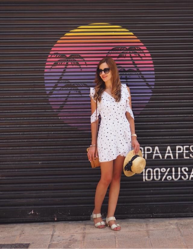 Happy weekend babes! Who hasn't got a Polka dot dress this summer? :D