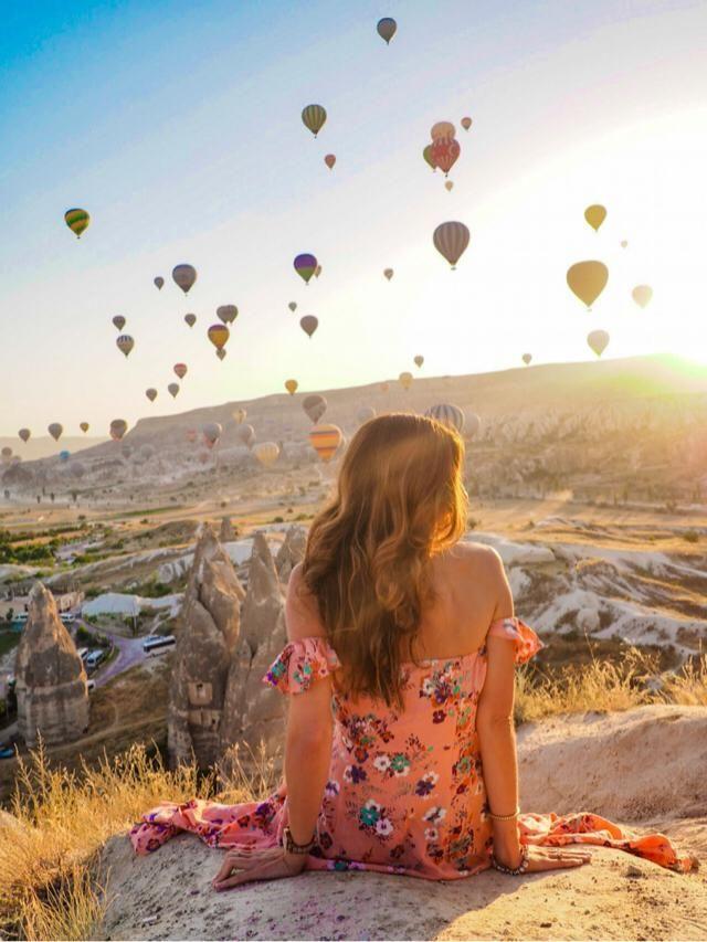 Sunrises that will be in my memories forever ❤️ Cappadocia, Turkey  Check my IG: @travelera.es