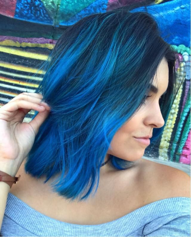 I miss my blue hair