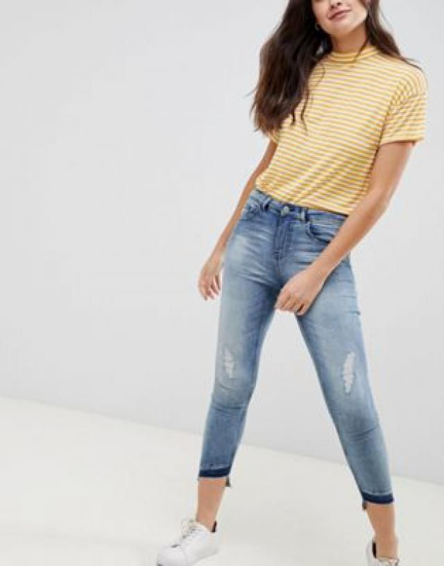 41e09d0ecbabc 2019 Best Denim Blue Jeans Images And Outfits | Z-Me ZAFUL - Page 12