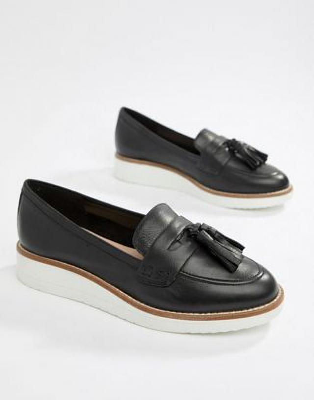 e598255b524 ALDO Leather Chunky Sole Tassel Loafers