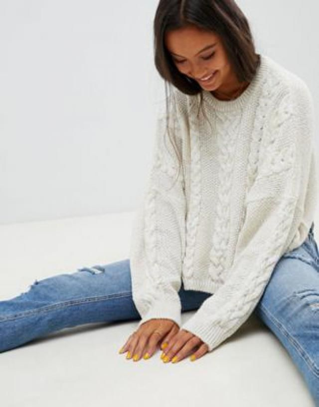 c574ef11652c 2019 Best Cream Jumpers Images And Outfits | Z-Me ZAFUL