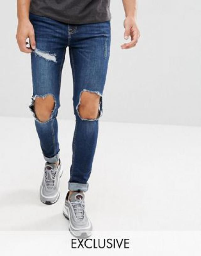 167aa7226bbe 2019 Best Muscle Fit Jeans Images And Outfits | Z-Me ZAFUL