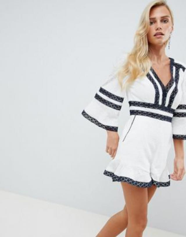 c09f72d868e 2019 Best White Jumpsuits Images And Outfits