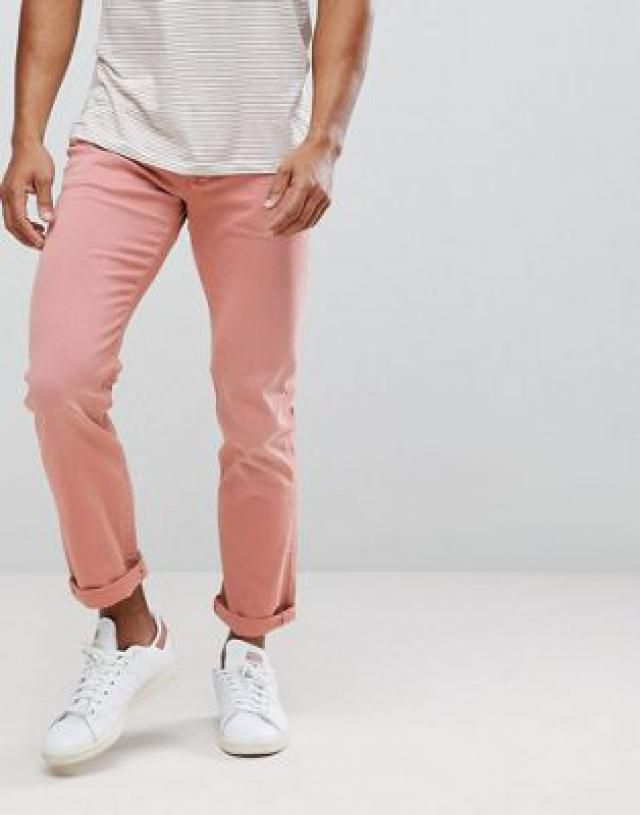 Tommy Hilfiger Bleecker Slim Fit Jeans in Washed Pink 72127654b
