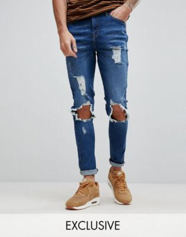 79996337 2019 Best Muscle Fit Jeans Images And Outfits | Z-Me ZAFUL