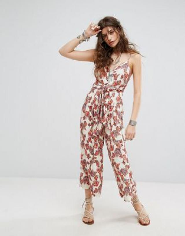 5e127ac494a 2019 Best Tropical Print Jumpsuits Images And Outfits