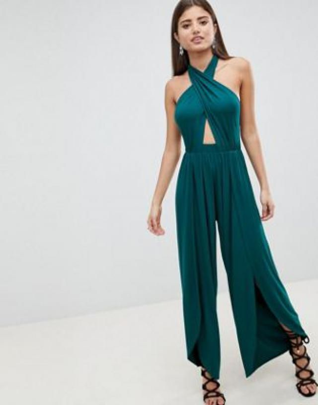 c7e901141caa 2019 Best Halter Neck Jumpsuits Images And Outfits