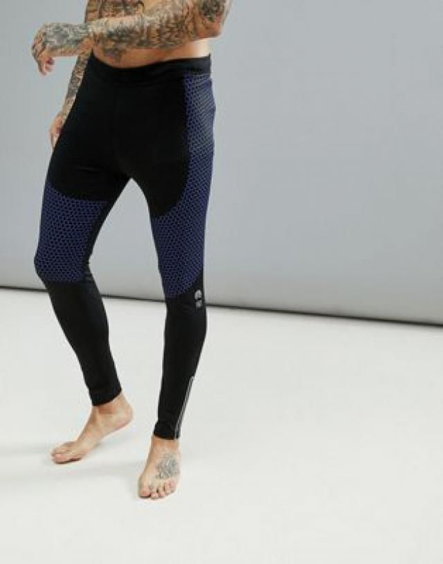 ae8d2fc99a191 HIIT Running Tights With Reflective Zip Detail In Black