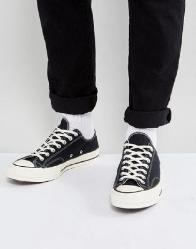 5d9206febef Converse Chuck Taylor All Star   70 ox plimsolls in black 144757c