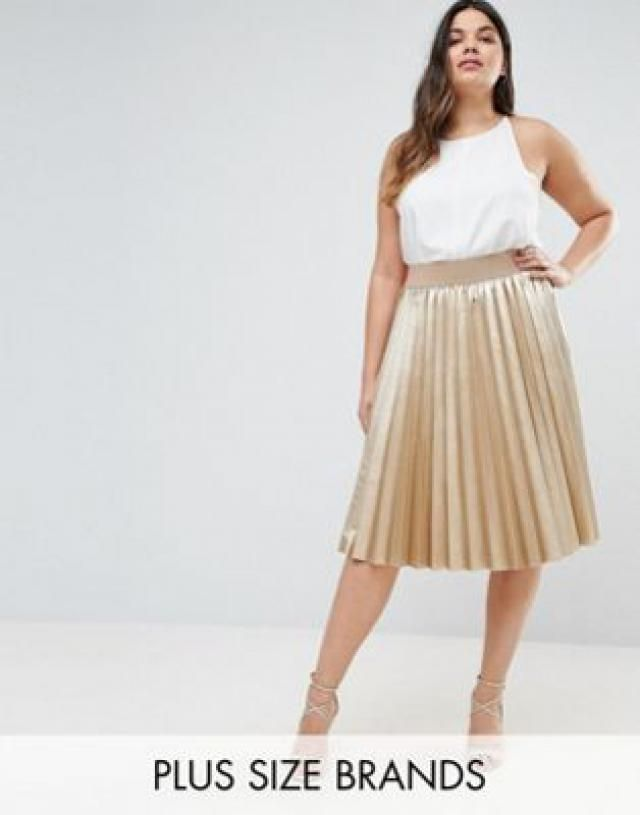 cb18330724a 2019 Best Metallic Skirts Images And Outfits