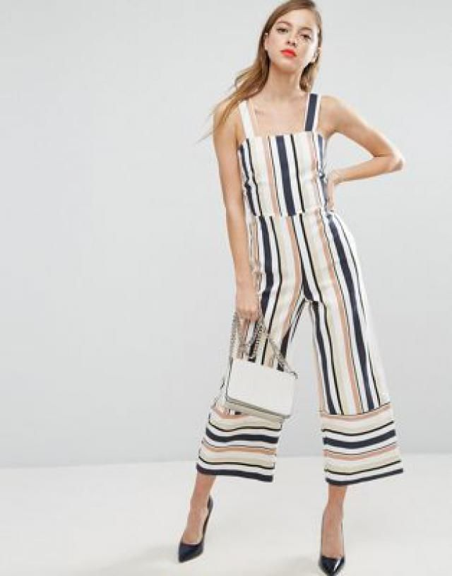 a172ae6b4fed 2019 Best Striped Jumpsuits Images And Outfits