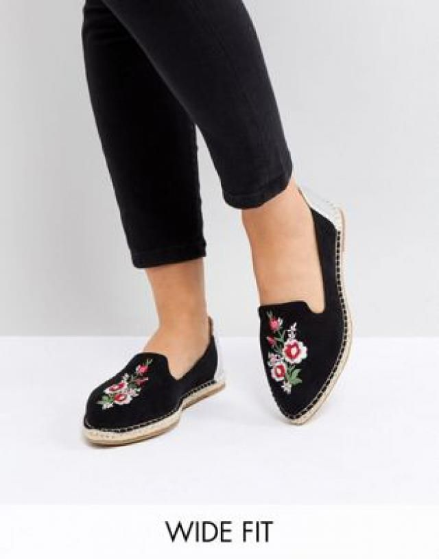 3dfe7e90a20 2019 Best Embroidered Espadrilles Images And Outfits | Z-Me ZAFUL