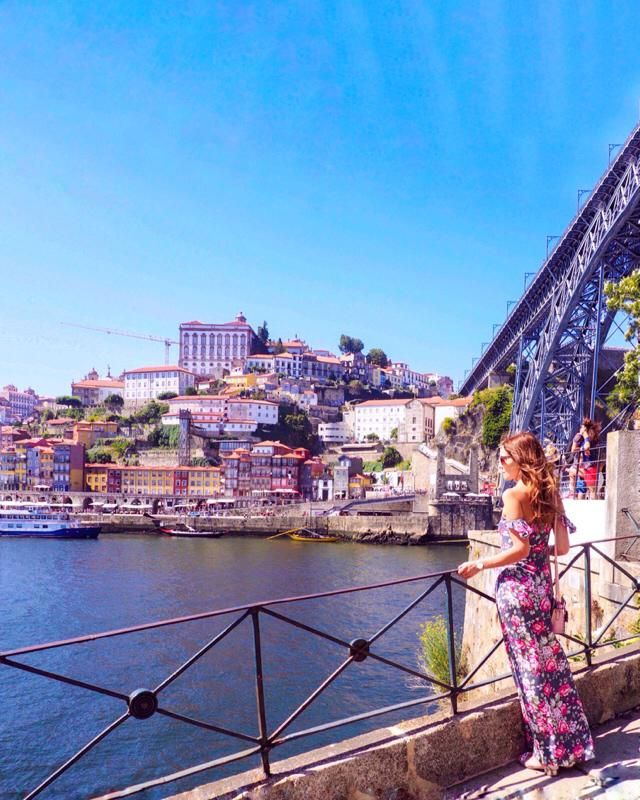 Visiting Porto, one of the most beautiful cities in Portugal ❤️