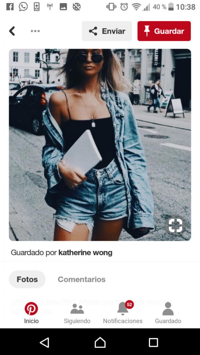 Pinterest style