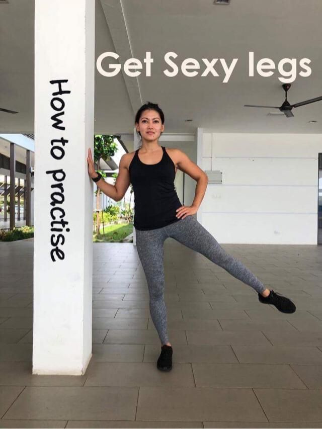 Get sexy legs - How to practice.. Sculpt and work your legs with these movements. Practice the following exercises. Lat…