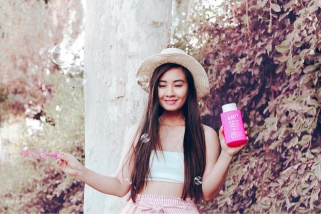 Bubbles bubbles pop pop summer outfit