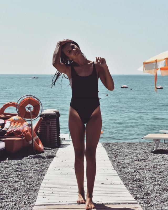 In love with this onepiece swimsuit   in love with ZAFUL swimwear and sunglasses   Location: Praia a Mare, Italy       …